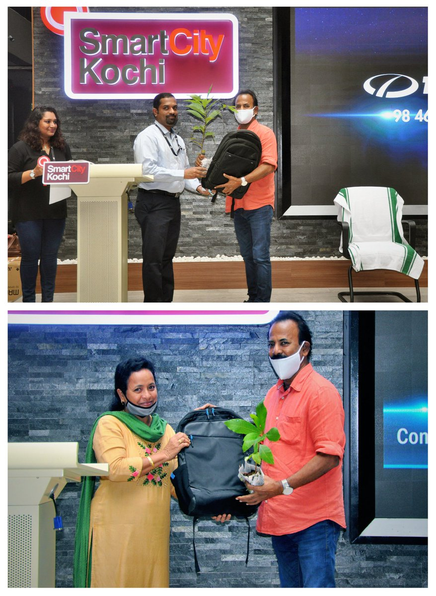 @ViswaSanthiFndn, in association with #EYGDS, donated 100 laptops,30 TVs, and tabs to schools across Kerala.The schools will plant 10 saplings for each laptop/TV received.A total of 2,000 saplings would be handed over.