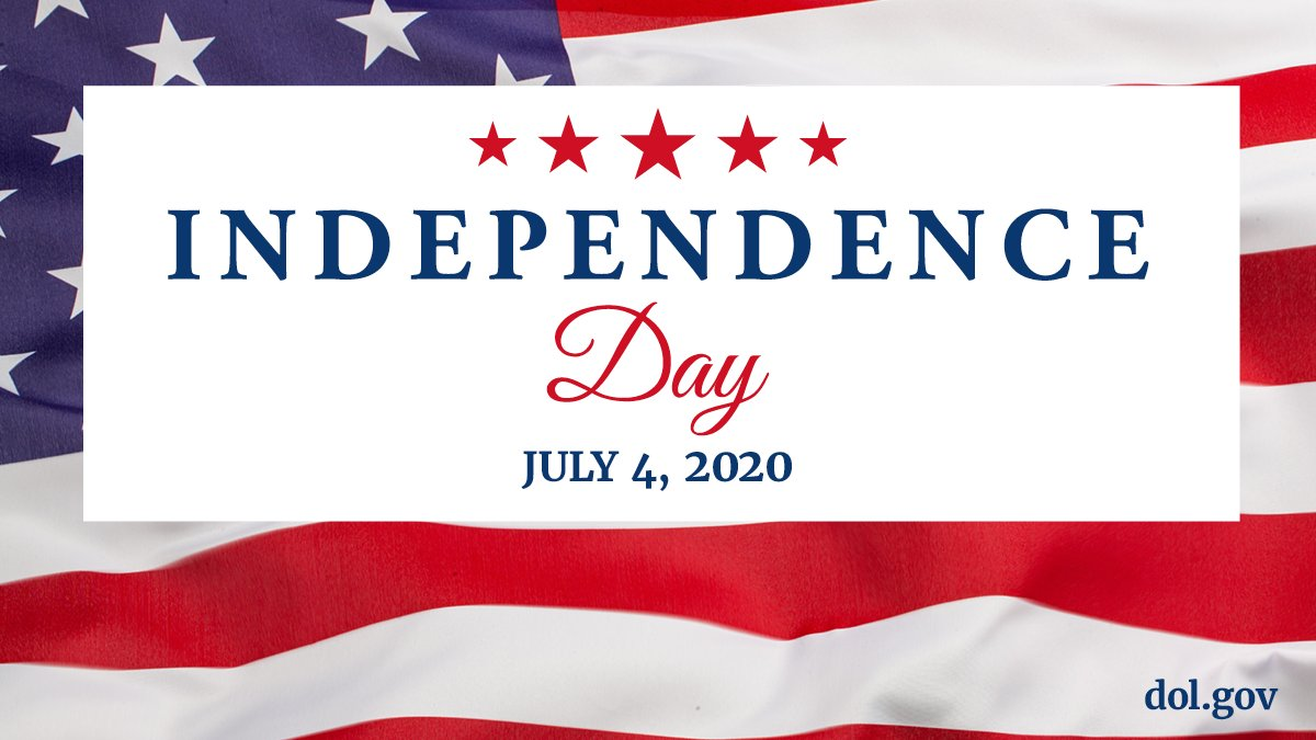 Happy #IndependenceDay from @USDOL! https://t.co/ck28RtQZKb