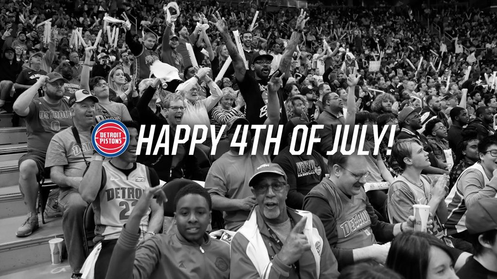 Have a healthy and safe holiday weekend, Pistons fans https://t.co/d69bWyy3yR