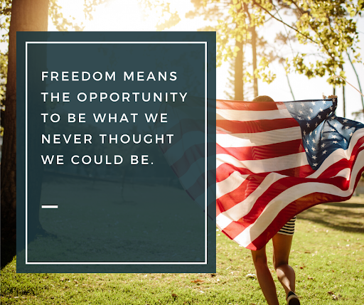 Happy #IndependenceDay!  As a #veteran led organization we know first hand the sacrifices that come with freedom, and we want to express our gratitude for the opportunities we have to be an agent of change in today's world. What do you #dream of today?  #HumanityFirst https://t.co/WUTqe9umqh