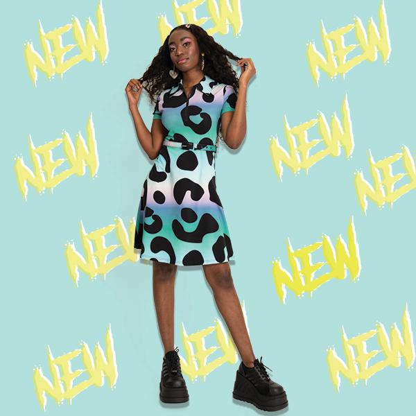 Hell yeah 50% OFF all NEW! Embrace your wild side with our Technicolour leopard skater dress for £25  A STEAL!  https://www.jawbreakerclothing.com/techincoloured-leopard-skater-dress.html …  #grungefashion  #alternativefashion #alternativestyle #punkfashion #jawbreakerclothing #wildside #wildheartpic.twitter.com/xEEapqIkEM