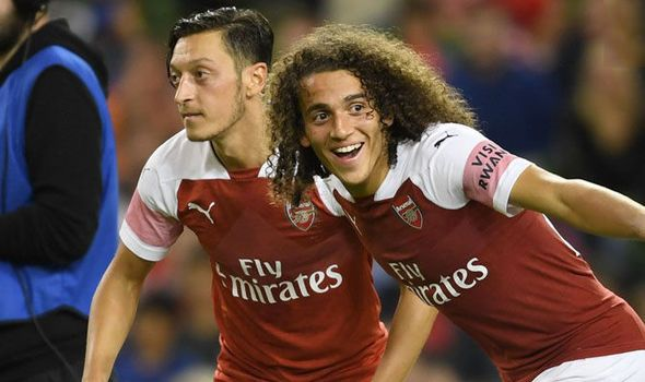 Guendouzi and Ozil missed yesterday's (Friday) Arsenal training (footbal.london) #afc
