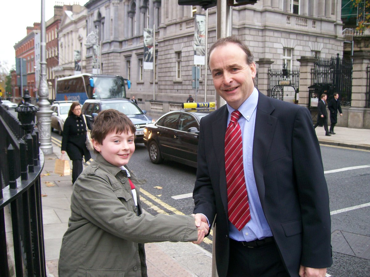 Me, aged 10, from the west of Ireland, not being offered a Junior Ministry by @MichealMartinTD.