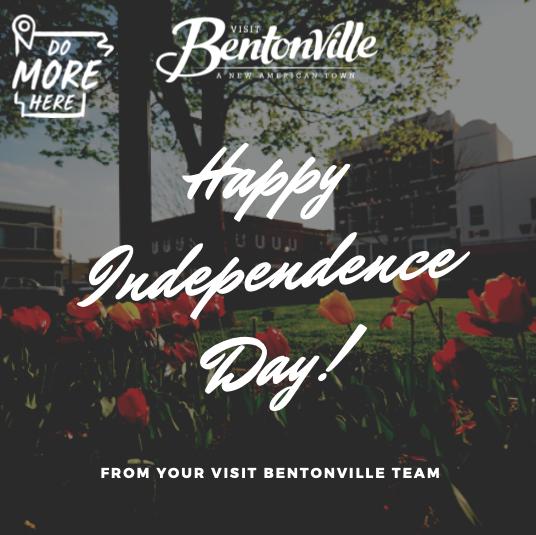 Happy Independence Day!   #visitbentonville #dinebentonville #4thofJuly #independenceday #bentonvillear https://t.co/i0biriS7vB