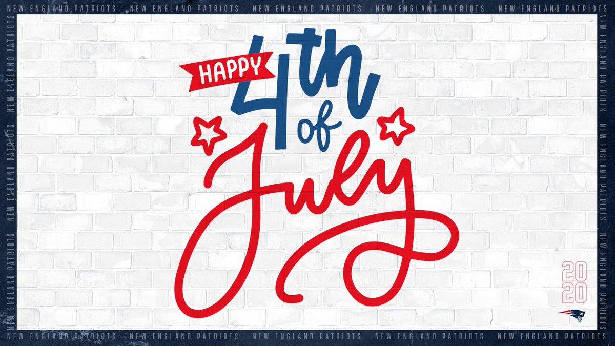 Wishing #Patriots Nation a safe & happy #4thofJuly! https://t.co/pyi12a9CaS