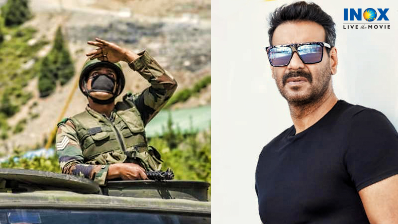 .@ajaydevgn announces a film on the sacrifice of our Indian soldiers in the Galwan valley clash. The cast and crew of the film are yet to be finalized.  #GalwanValley #IndianArmy #chinaindiaborder #IndiaChinaFaceoff #LiveTheMovie #INOX https://t.co/iNP6xYWMgE