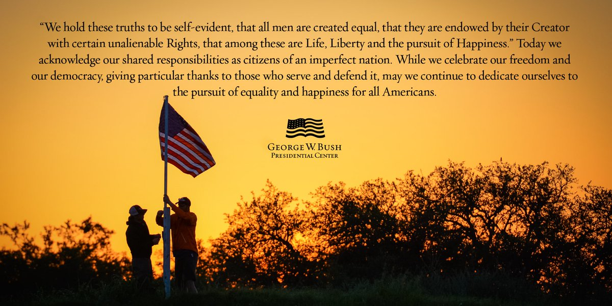 Happy Fourth of July from the Bush Center