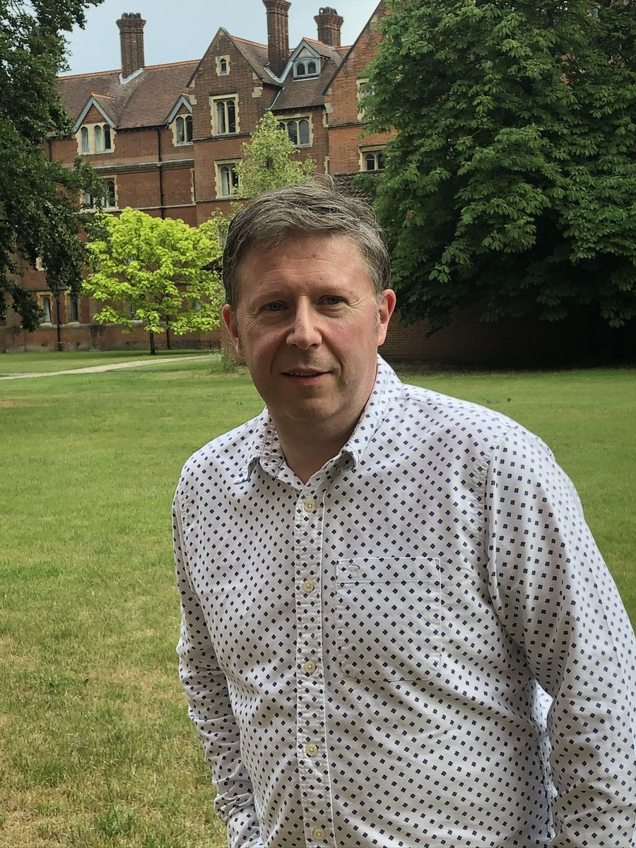 We've said farewell to our linguistics fellow David Willis after 20 years at Selwyn - and we wish him every success in his prestigious new role as @JesusOxford Professor of Celtic in @UniofOxford. https://t.co/WFlYOzyxel