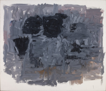 Group I, Philip Guston, 1964 https://www.slam.org/collection/objects/17357/… #museumarchive #slampic.twitter.com/N7eXoZMPpf