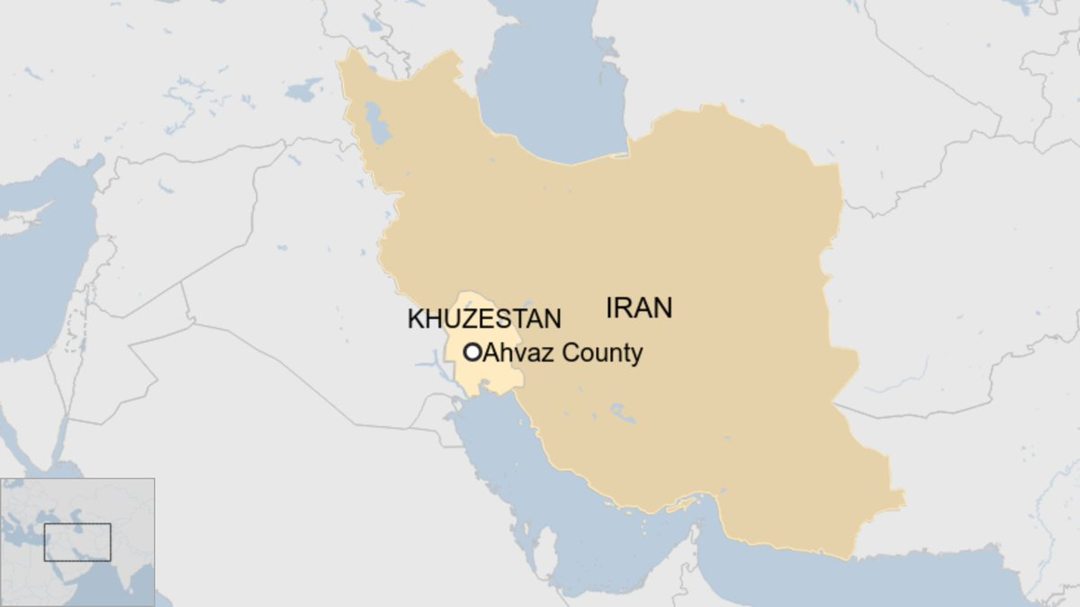 Explosion reported at a power station in Iran's Khuzestan province, official IRNA news agency reports. Fire service official quoted saying one of the transformers exploded. No casualties reported. https://t.co/O3yyvSD1b9