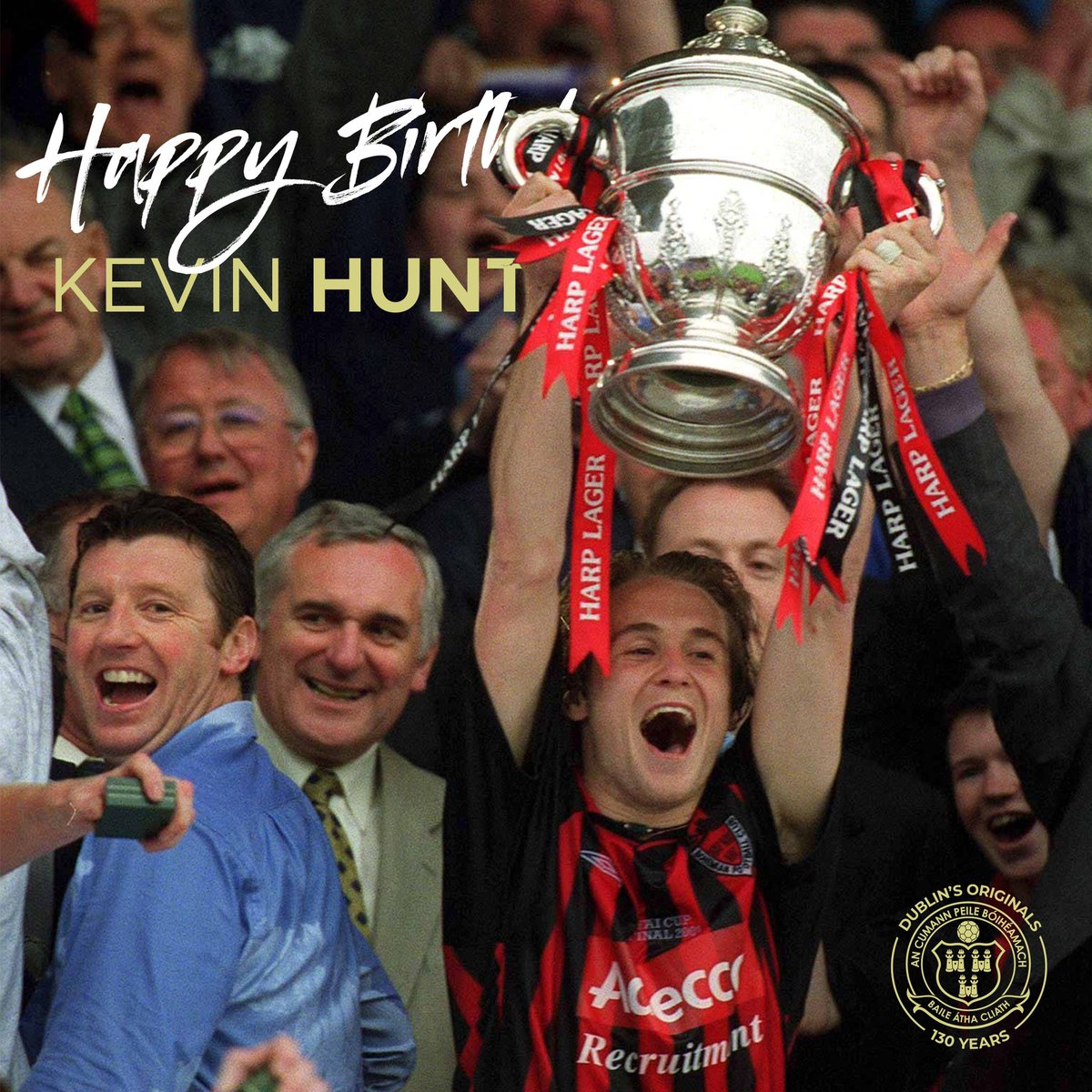 🎂🎉 Happy Birthday to the one and only Kevin Hunt! ⠀⠀⠀⠀⠀⠀⠀⠀ 🔴⚫️ #WeAreBohs #DublinsOriginals