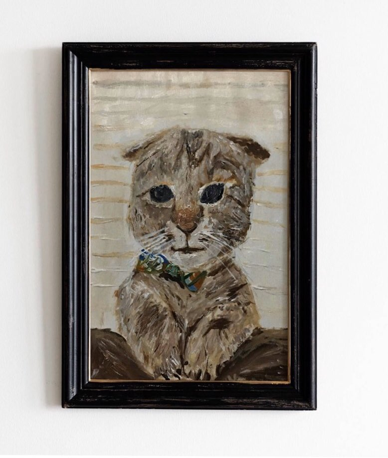 Gatinho recém nascido esperando para ser adotado   Tamanho 30x40   #art #paintacrylic #paintacrylic #painting #pintura #pinturaacrilica #arthoedrawing #drawing #drawpic.twitter.com/Nqi64HvRbd
