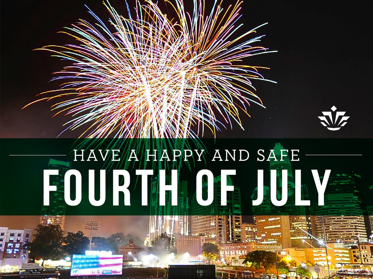 Niner Nation: Were wishing you a happy, safe and #GoldStandard 4th of July 💚✨