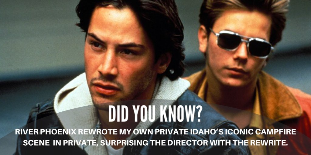 Fancy a flashback to young Keanu Reeves and River Phoenix starring together? It's time to refresh your memory of My Private Idaho.  Watch it now here: https://t.co/OM9XjGGWv5 https://t.co/vmsElvjeaN