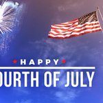 Image for the Tweet beginning: Happy Fourth of July!