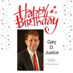 Image for the Tweet beginning: Happy Birthday Gary D. Justice!