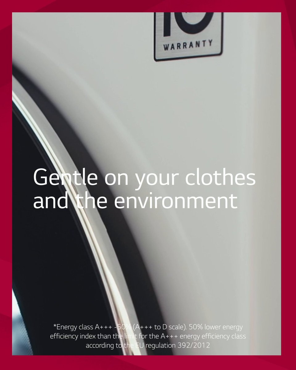 Experience the innovative benefits of LG Wsahing Machines. The future is gentle. https://t.co/96LcQWHezB