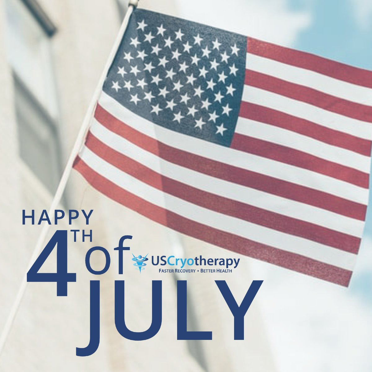 Happy 4th of July!  Don't forget to take advantage of our 4th of July sale online! #uscryotherapy #cryotherapy #ftbliss #fortblisstexas #ftblisstx #elpaso #elpasotexas #elpasotx #eptx #itsallgoodep #livefitep #elpasostrong #wellness #health #recovery #4thofjulypic.twitter.com/RtvVzwuQkD