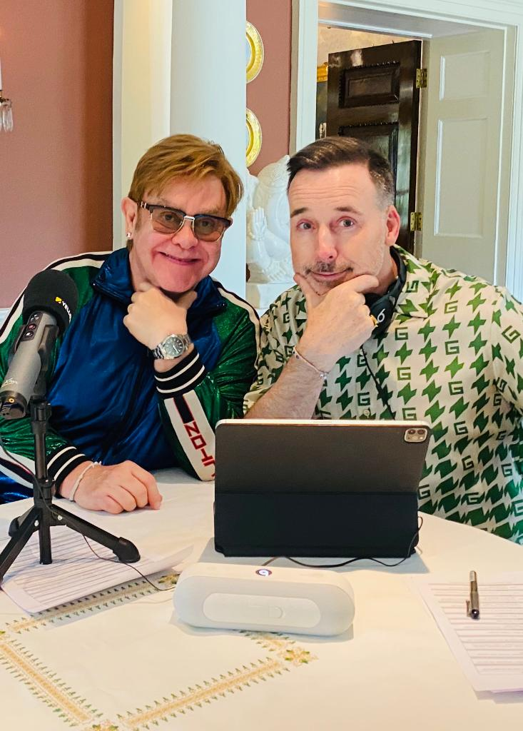 David Furnish joins @eltonofficial on a special edition of #RocketHour. Listen as they play some of their favorite electronic music. 🚀 https://t.co/e75ZZJbyoy https://t.co/YjPIOIDcWZ