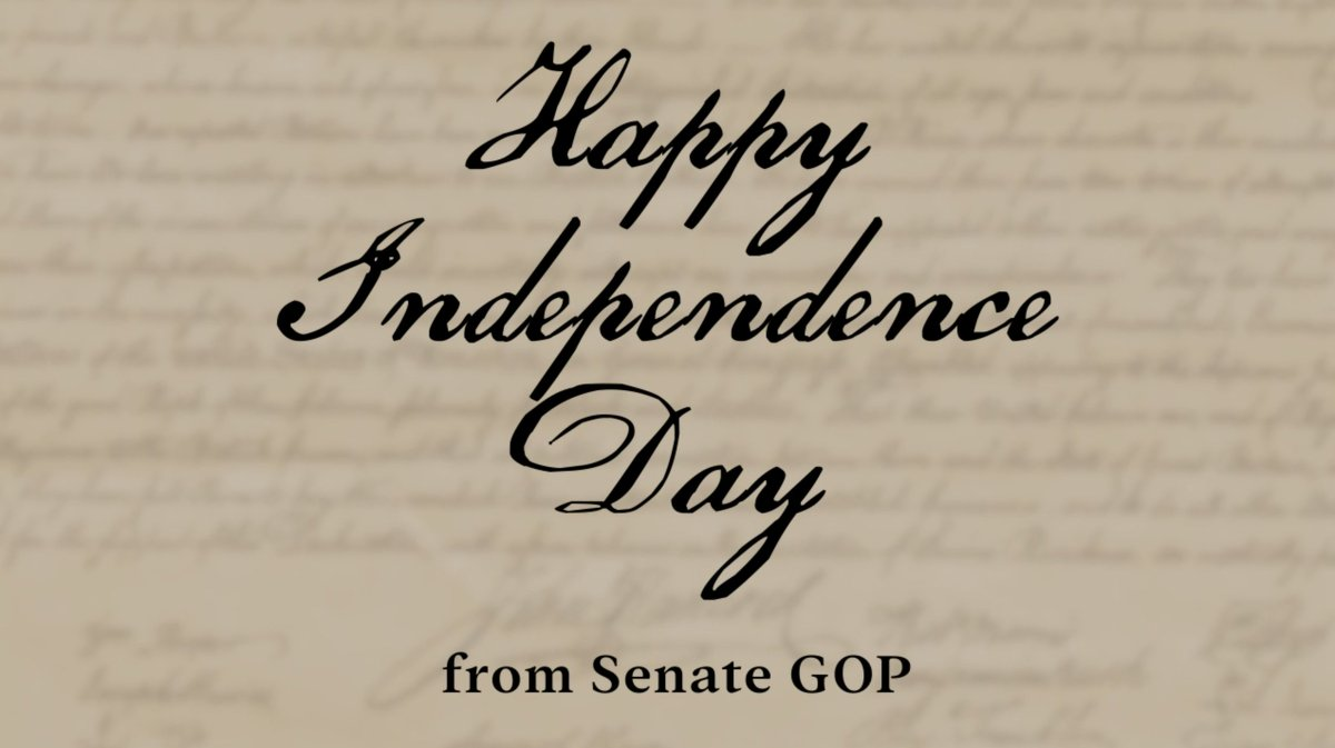 """""""We hold these truths to be self-evident, that all Men are created equal."""" Happy #IndependenceDay, America!"""