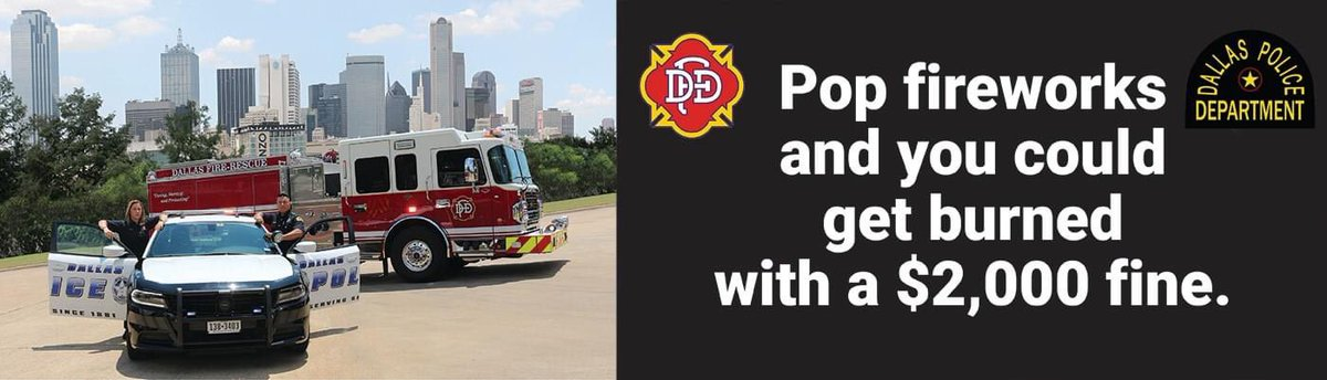 If you see something, say something! Call 9-1-1 or use the iWatchDallas app. #HappyFourthOfJuly @ChiefHallDPD