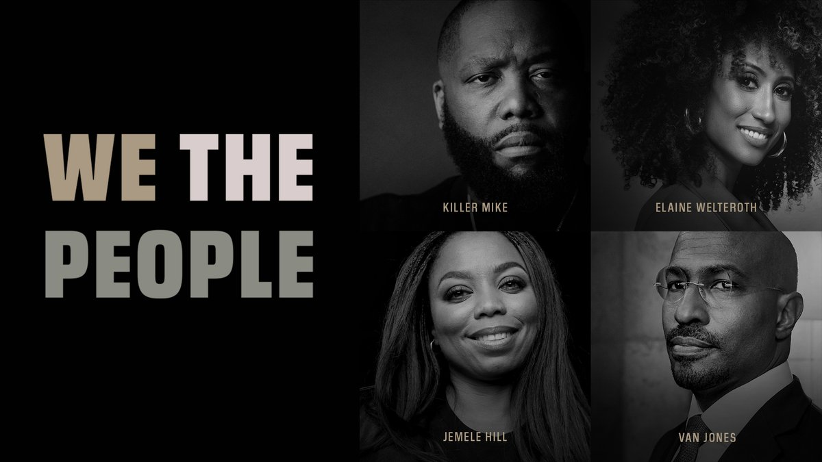 Thanks to everyone that joined us at the Big Screen for OPUS United presents We The People. Catch a rebroadcast every other hour until July 5 at 8:00am ET.