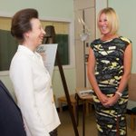 #ThrowBackMemory to this week in 2014 when @itsmejuliebe represented the #rugby playing #Burgess family to see @mndassoc Royal Patron HRH The Princess Royal officially open the #Leeds Wheelchair Centre🦼Julie lost her husband Mark to #MND in 2007.#SaturdayMotivation #Yorkshire