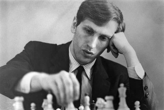 """""""The turning point in my career came with the realization that Black should play to win instead of just steering for equality.""""  - Bobby Fischer #chess #SaturdayMood <br>http://pic.twitter.com/T9Ck8fjrMY"""