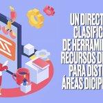Image for the Tweet beginning: Descubre nuevas herramientas todos los