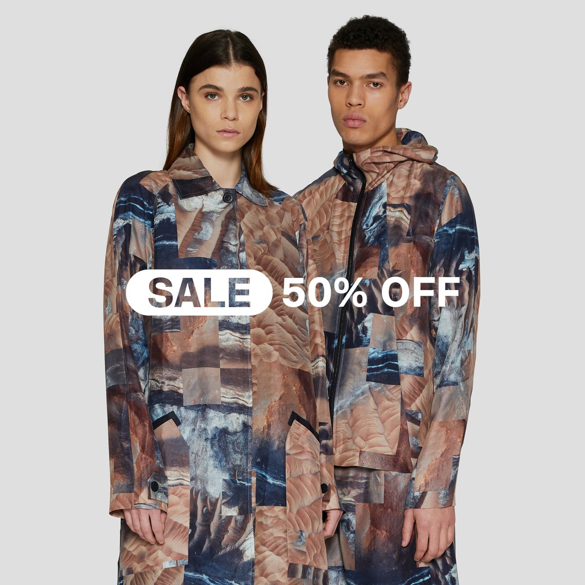 Make the most of 50% OFF selected lines from Spring/Summer 2020 and past collections. Available online and in the RÆBURN Lab while stocks last.  https://t.co/Ljb69w7AjW https://t.co/dJHq87jJZ8