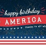 Image for the Tweet beginning: Happy 4th of July from
