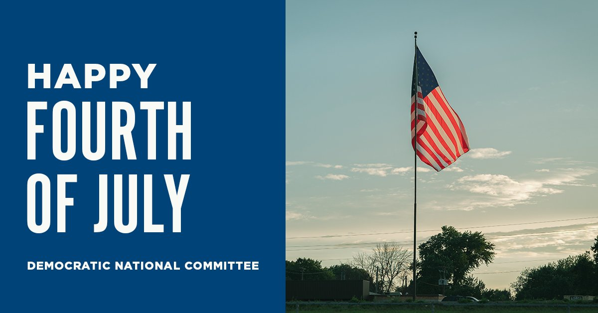 Today, we are reminded of the promise of our nation's founding and the work we still have to do to achieve that ideal. We will continue working to create a better, stronger, more equitable nation for us all. Wishing you all a safe and happy Fourth of July.