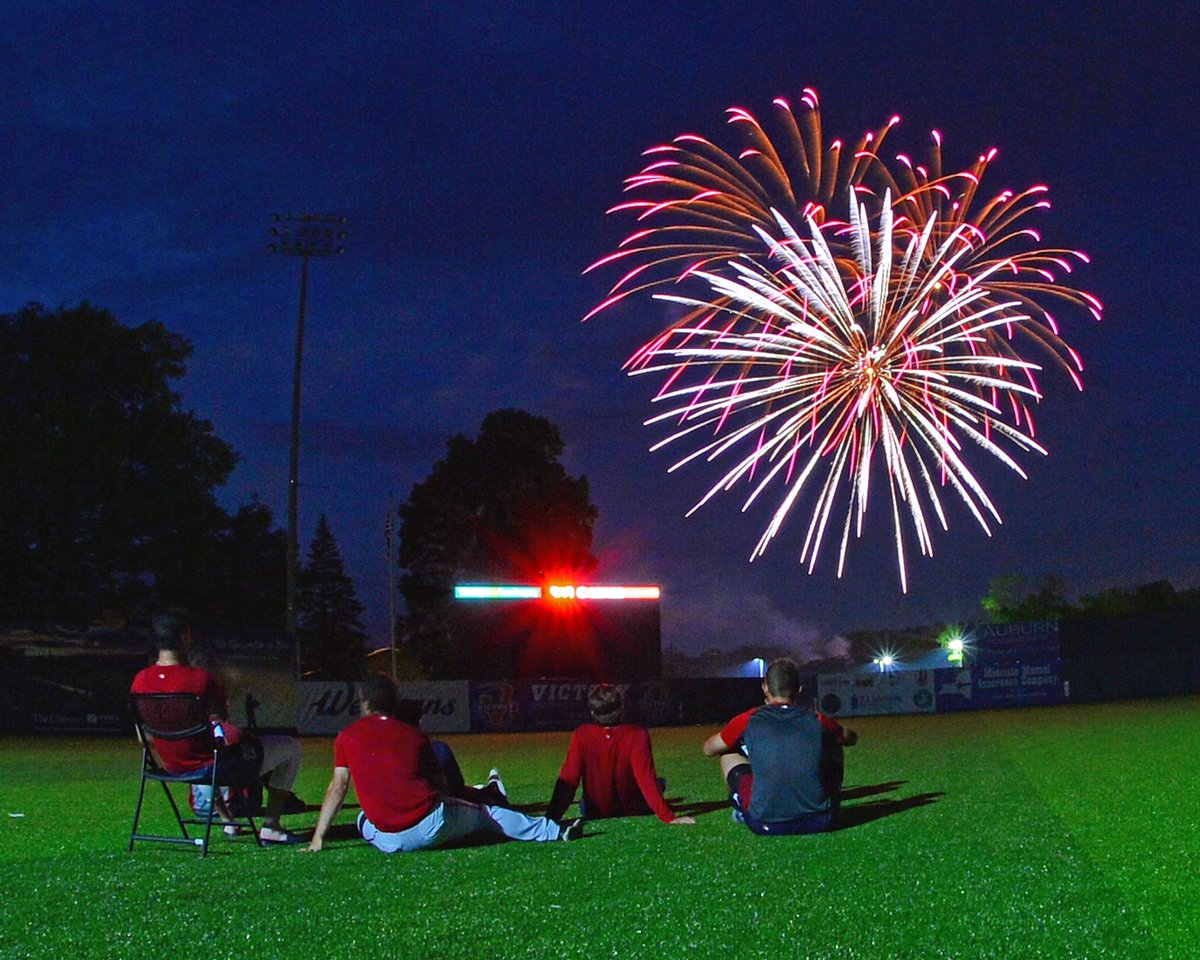 See how our teams are maintaining #MiLBFunOnThe4th! milb.com/fans/funonthe4…