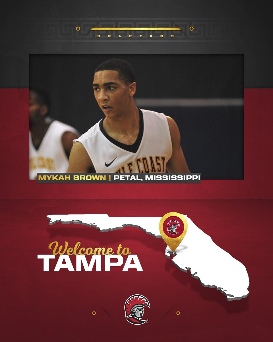Excited to welcome Mykah Brown to the @tampaspartans family! 🛡 🏀 🌴 https://t.co/KYrZKpCXGQ