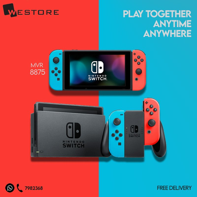 Nintendo Switch and Switch Lite is now available! Free Delivery. Call 7982368 or DM to order <br>http://pic.twitter.com/hrF95e3prt