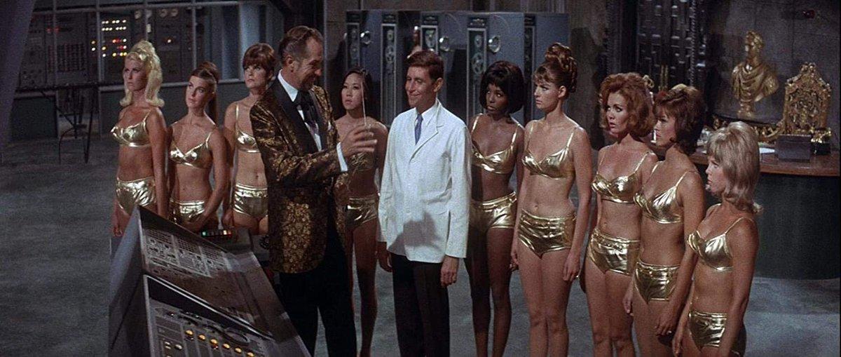 """Dr. Goldfoot und seine Bikini-Maschine - Kinofassung (in HD neu abgetastet)  Best of MGM: Der legendäre Vincent Price-MGM-Kultfilm """"Dr.  #bluray #DeannaLund #dvd #DwayneHickman #FrankieAvalon #JackMullaney #Komödie #NormanTaurog #release #VincentPrice http://www.retro-film.de/release-dr-goldfoot-und-seine-bikini-maschine/…pic.twitter.com/bQIfVmHA6J"""
