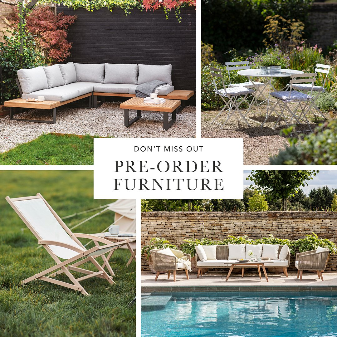 """Garden Trading on Twitter: """"Our bestselling outdoor furniture"""