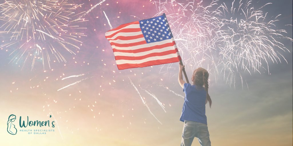 Happy 4th of July from all of us at Women's Health Specialists of Dallas!  #IndependenceDay #FourthofJuly #DallasTX #Dallas #obgyn #WomensHealth pic.twitter.com/GywJ70dSui