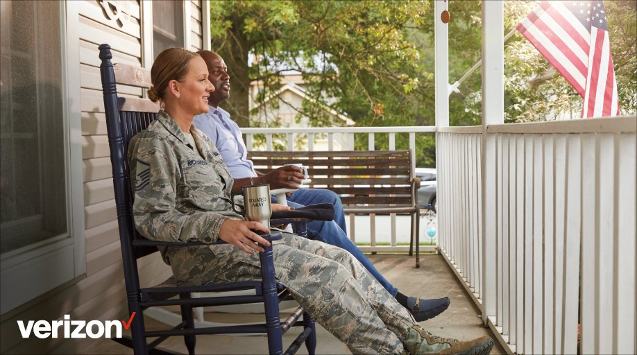 From V Teamers like Barbie, an Air Force veteran, who call Verizon home, to the active military members around the world, this #IndependenceDay we celebrate your service and dedication to your country. #HappyFourthofJuly from our military family to yours. #vzcareers #thanks2vets https://t.co/ApVjJisrWw