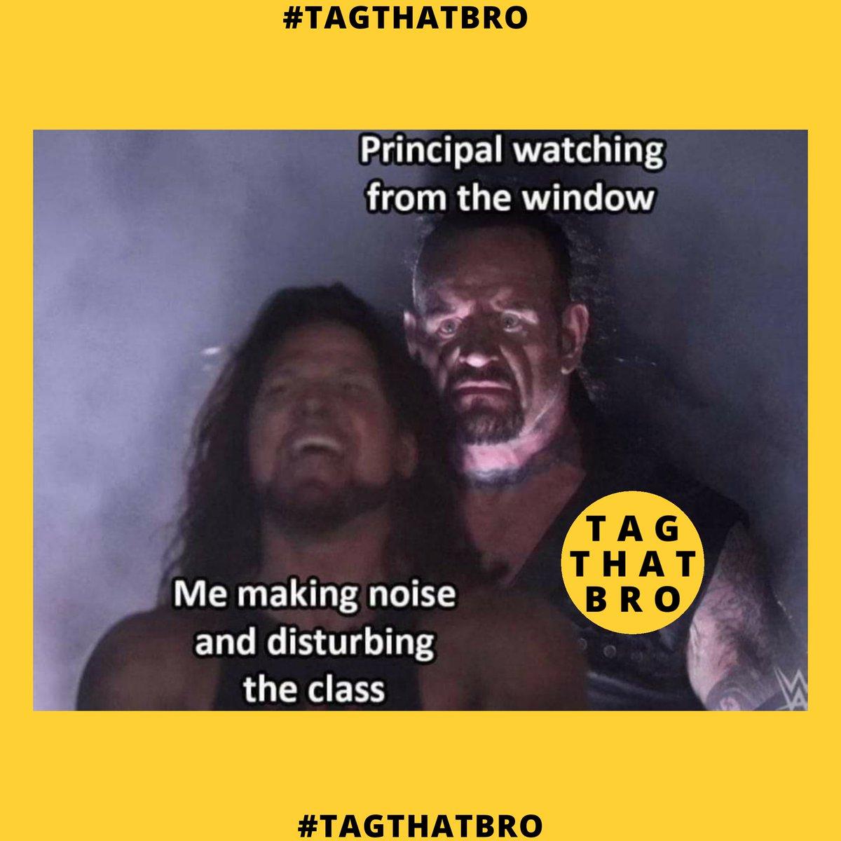 Tag That Bro - Follow us @tagthatbro  #tagthatbro #memes#dankmemes #memes#memesdaily #memesespanol #memestagram #funnymemes #edgymemes #memester #memesdank #memesfordays #memeschile #memesfunny #dailymemes #memess #memestar #memestagram #memesrlife #memesquad pic.twitter.com/dtpPJMvzRH