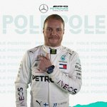 YESSSS!!! @ValtteriBottas takes POLE for the #AustrianGP  Let's hear it for the Finn! 👏👏👏