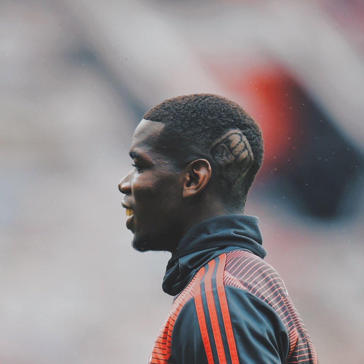 Paul Pogba's new haircut is repping the Black Lives Matter movement