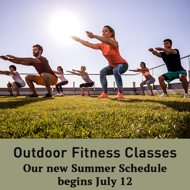 We're bringing Fitness Classes back to the Club but moving them outdoors! Check out our full Summer schedule and register for a class today at https://t.co/G9P8rpciWW #TCSCC https://t.co/vcKhEWEiZr