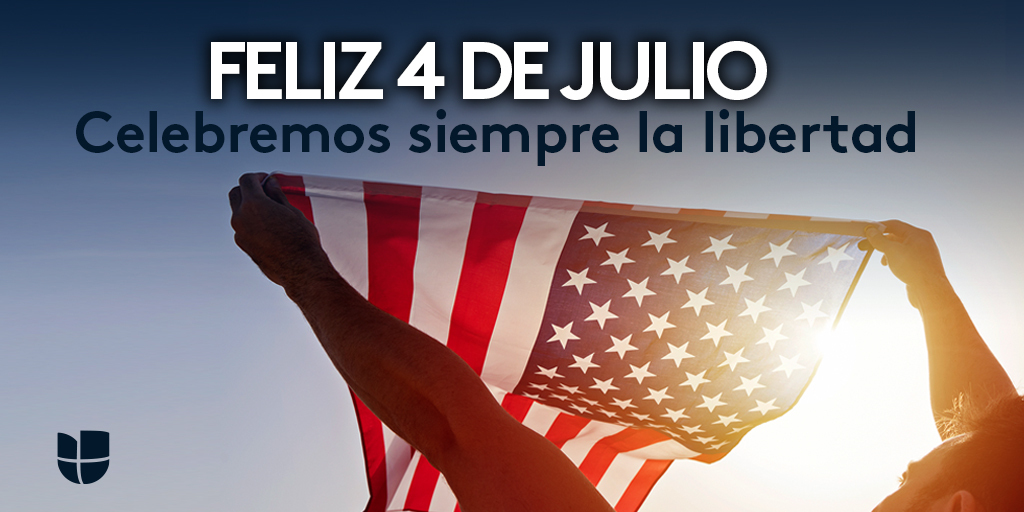 4 de Julio, Día de la Independencia de Estados Unidos de América. https://t.co/RBN8kKuy5I
