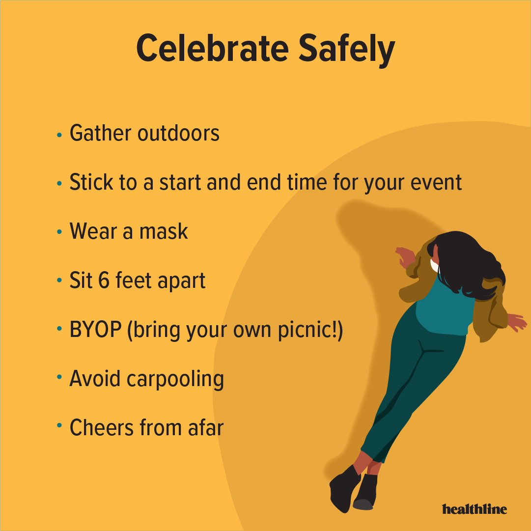 Celebrating during a pandemic has its challenges, but with the right safety measures, it can be done right! Here are some tips to remember as you embark on your long weekend festivities. ☀️ For more, follow us on Instagram: bit.ly/2SThSjm