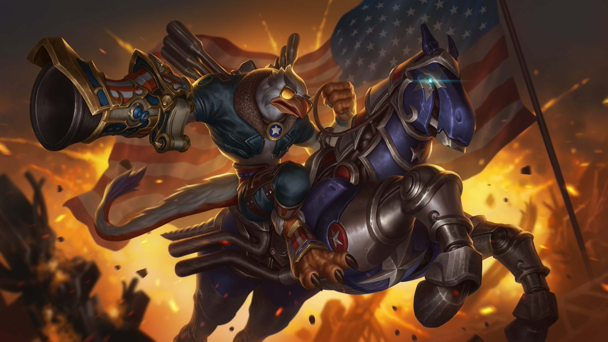 Its the 4th of July for all the Paladins players in America today! But no matter where youre from you can make your own fireworks in the Realm with Freegle Drogoz and the Merican Mustang! Get these in the new World Wide Chest available now!