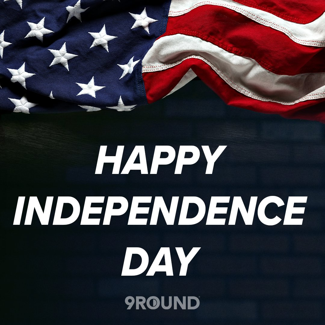 Happy #IndependenceDay, 9Rounders! 🇺🇸   How are you showing your American pride today?   #StrongerIn30 #9Round #9RoundFamily #July4th https://t.co/s0nm880YpM