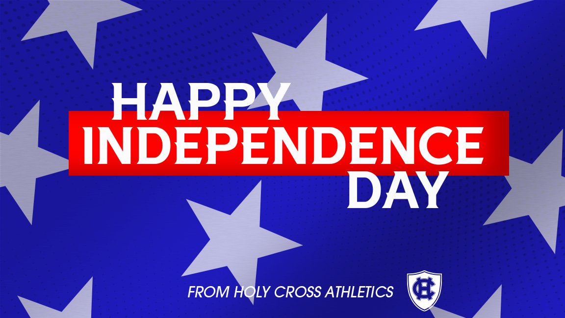 Wishing everyone in our Holy Cross family a safe and happy Fourth of July!  #GoCrossGo<br>http://pic.twitter.com/H80j5dEDh2