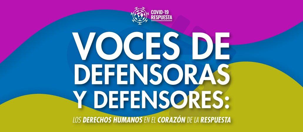 """¡Conoce más sobre la campaña """"Voces de #Defensoras y #Defensores, los Derechos Humanos en el Corazón de la Respuesta""""!  Haz click aquí 🎞️👉 https://t.co/UvyZh9kiEg   @AristeguiOnline https://t.co/oeCbEQgY1X"""