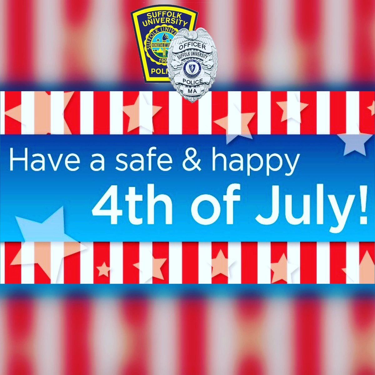 Wishing Everyone a Fun & Safe 4th of July! Please remember to celebrate responsibly. https://t.co/AAjRS5Zibb